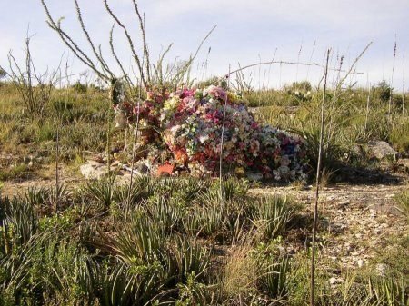 *CEMETERY VIEW,  - Brewster County, Texas |  *CEMETERY VIEW - Texas Gravestone Photos