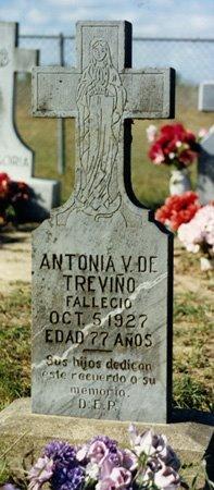 TREVINO, ANTONIA - Brooks County, Texas | ANTONIA TREVINO - Texas Gravestone Photos