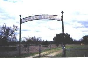 *CEMETERY ENTRANCE,  - Brown County, Texas |  *CEMETERY ENTRANCE - Texas Gravestone Photos