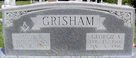 WHITE GRISHAM, GEORGIA ANN - Brown County, Texas   GEORGIA ANN WHITE GRISHAM - Texas Gravestone Photos