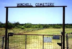 *WINCHELL ENTRANCE,  - Brown County, Texas |  *WINCHELL ENTRANCE - Texas Gravestone Photos