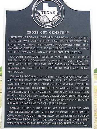 *HISTORIC MARKER,  - Brown County, Texas |  *HISTORIC MARKER - Texas Gravestone Photos
