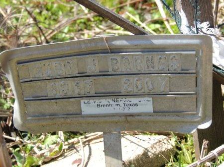 BARNES, RUBY J. - Burleson County, Texas | RUBY J. BARNES - Texas Gravestone Photos