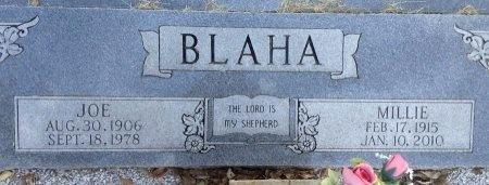 BLAHA, MILLIE - Burleson County, Texas   MILLIE BLAHA - Texas Gravestone Photos