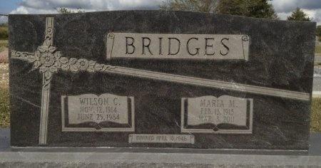 BRIDGES, WILSON C. - Burleson County, Texas | WILSON C. BRIDGES - Texas Gravestone Photos