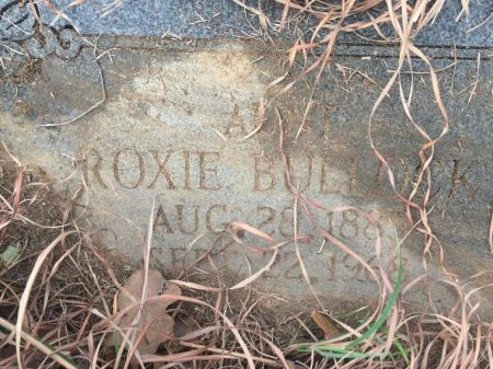 BULLOCK, ROXIE - Burleson County, Texas | ROXIE BULLOCK - Texas Gravestone Photos