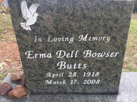 BUTTS, ERMA DELL - Burleson County, Texas | ERMA DELL BUTTS - Texas Gravestone Photos