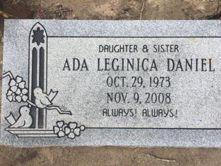 DANIEL, ADA LEGINICA - Burleson County, Texas | ADA LEGINICA DANIEL - Texas Gravestone Photos