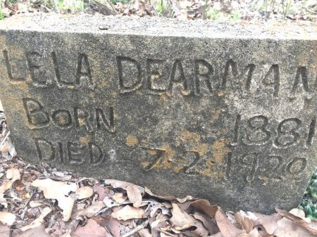DEARMAN, LELA - Burleson County, Texas | LELA DEARMAN - Texas Gravestone Photos