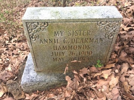 HAMMONDS, ANNIE C. - Burleson County, Texas | ANNIE C. HAMMONDS - Texas Gravestone Photos