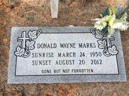 MARKS, DONALD WAYNE - Burleson County, Texas | DONALD WAYNE MARKS - Texas Gravestone Photos