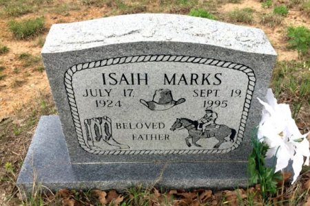 MARKS, ISAIH - Burleson County, Texas | ISAIH MARKS - Texas Gravestone Photos
