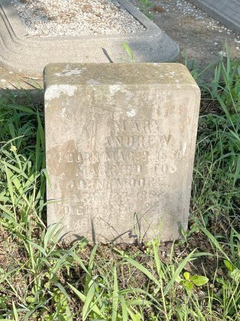 MOORE, MARY - Burleson County, Texas   MARY MOORE - Texas Gravestone Photos