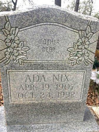 NIX, ADA - Burleson County, Texas | ADA NIX - Texas Gravestone Photos