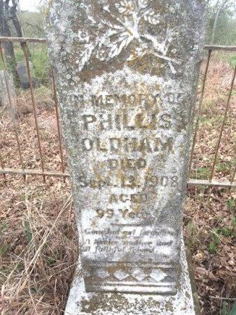OLDHAM, PHILLIS - Burleson County, Texas | PHILLIS OLDHAM - Texas Gravestone Photos