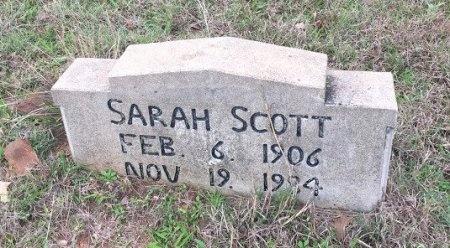 SCOTT, SARAH - Burleson County, Texas | SARAH SCOTT - Texas Gravestone Photos