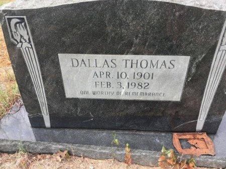 THOMAS, DALLAS - Burleson County, Texas | DALLAS THOMAS - Texas Gravestone Photos