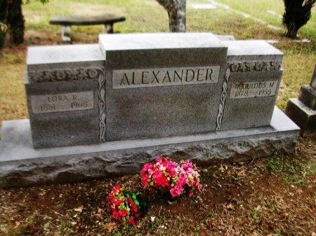 ALEXANDER, REGULUS MARION - Caldwell County, Texas | REGULUS MARION ALEXANDER - Texas Gravestone Photos