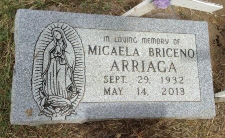 BRICENO ARRIAGA, MICAELA - Caldwell County, Texas | MICAELA BRICENO ARRIAGA - Texas Gravestone Photos