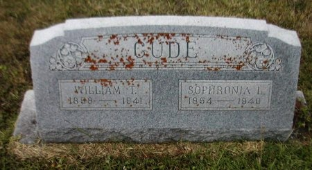 CUDE, SOPHRONIA L. - Caldwell County, Texas | SOPHRONIA L. CUDE - Texas Gravestone Photos