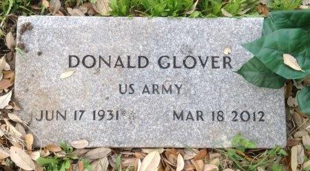 GLOVER (VETERAN), DONALD - Caldwell County, Texas   DONALD GLOVER (VETERAN) - Texas Gravestone Photos