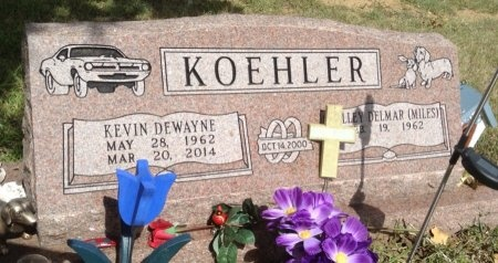 KOEHLER, KEVIN DEWAYNE - Caldwell County, Texas | KEVIN DEWAYNE KOEHLER - Texas Gravestone Photos