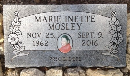 MOSLEY, MARIE INETTE - Caldwell County, Texas   MARIE INETTE MOSLEY - Texas Gravestone Photos