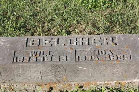 BELCHER, IDA - Calhoun County, Texas   IDA BELCHER - Texas Gravestone Photos