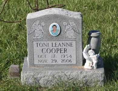 COOPER, TONI LEANNE - Calhoun County, Texas   TONI LEANNE COOPER - Texas Gravestone Photos