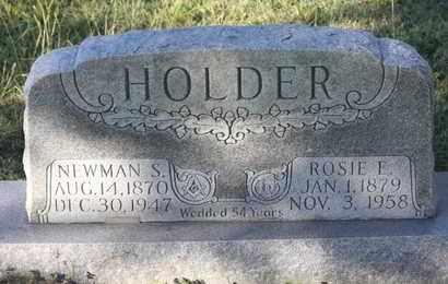 HOLDER, NEWMAN S - Calhoun County, Texas | NEWMAN S HOLDER - Texas Gravestone Photos