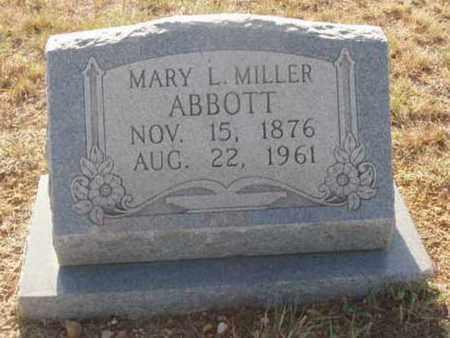 MILLER, MARY - Callahan County, Texas | MARY MILLER - Texas Gravestone Photos