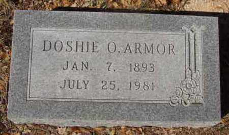 HOLLOWAY ARMOR, DOSHIE O - Callahan County, Texas | DOSHIE O HOLLOWAY ARMOR - Texas Gravestone Photos