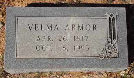 HARVILLE ARMOR, VELMA - Callahan County, Texas | VELMA HARVILLE ARMOR - Texas Gravestone Photos