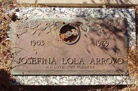 LEON ARROYO, JOSEFINA LOLA - Callahan County, Texas | JOSEFINA LOLA LEON ARROYO - Texas Gravestone Photos