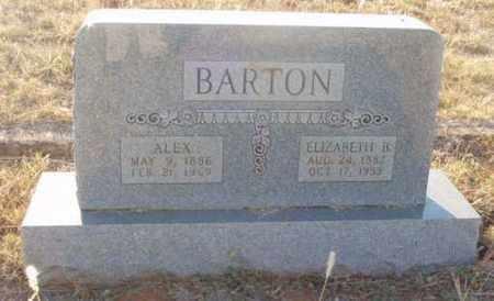 BARTON, ALEX - Callahan County, Texas | ALEX BARTON - Texas Gravestone Photos