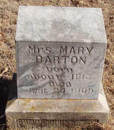 BARTON, MARY - Callahan County, Texas | MARY BARTON - Texas Gravestone Photos