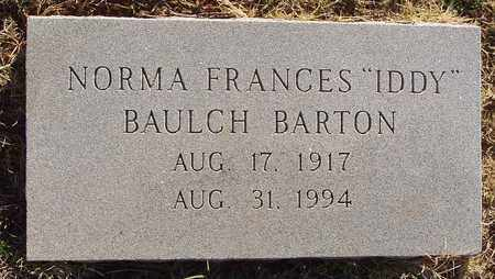 """BARTON, NORMA FRANCES """"IDDY"""" - Callahan County, Texas   NORMA FRANCES """"IDDY"""" BARTON - Texas Gravestone Photos"""
