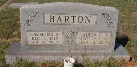 BARTON, LETA F - Callahan County, Texas | LETA F BARTON - Texas Gravestone Photos