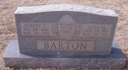 BARTON, SENA M - Callahan County, Texas   SENA M BARTON - Texas Gravestone Photos