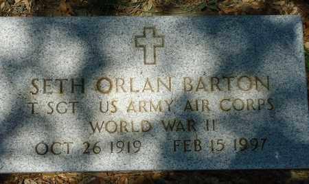 BARTON (VETERAN WWII), SETH ORLAN - Callahan County, Texas | SETH ORLAN BARTON (VETERAN WWII) - Texas Gravestone Photos