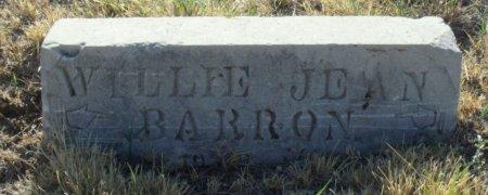 BARTON, WILLIE JEAN - Callahan County, Texas | WILLIE JEAN BARTON - Texas Gravestone Photos