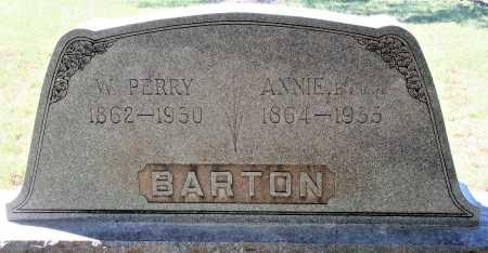 BARTON, W PERRY - Callahan County, Texas | W PERRY BARTON - Texas Gravestone Photos