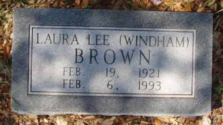 WINDHAM BROWN, LAURA LEE - Callahan County, Texas | LAURA LEE WINDHAM BROWN - Texas Gravestone Photos