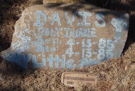 DAVIS, COLT DUANE - Callahan County, Texas | COLT DUANE DAVIS - Texas Gravestone Photos