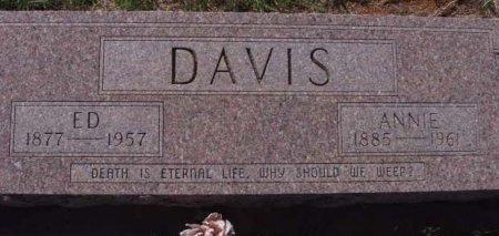 DAVIS, ED - Callahan County, Texas   ED DAVIS - Texas Gravestone Photos