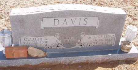 DAVIS, GELORA B - Callahan County, Texas | GELORA B DAVIS - Texas Gravestone Photos