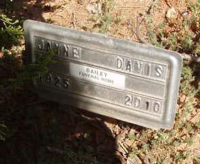 DAVIS, JAYNE - Callahan County, Texas | JAYNE DAVIS - Texas Gravestone Photos