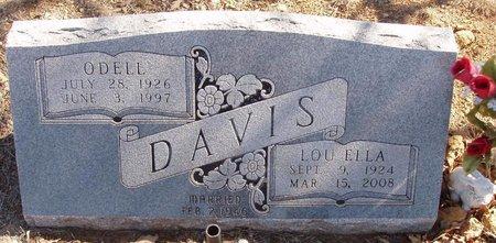 DAVIS, ODELL - Callahan County, Texas | ODELL DAVIS - Texas Gravestone Photos