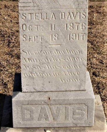 DAVIS, STELLA (CLOSEUP) - Callahan County, Texas | STELLA (CLOSEUP) DAVIS - Texas Gravestone Photos