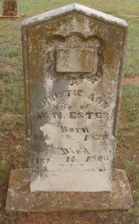 ESTES, CHRISTIE ANN - Callahan County, Texas   CHRISTIE ANN ESTES - Texas Gravestone Photos
